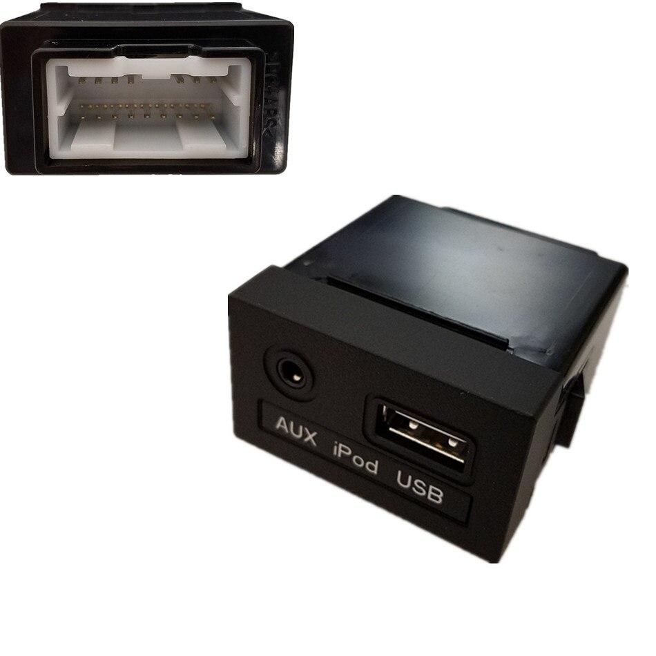 Oem Genuine Usb Reader Ipod Aux Port Adapter For Hyundai: OEM USB Reader IPod AUX Port Adapter For HYUNDAI 2009 I30