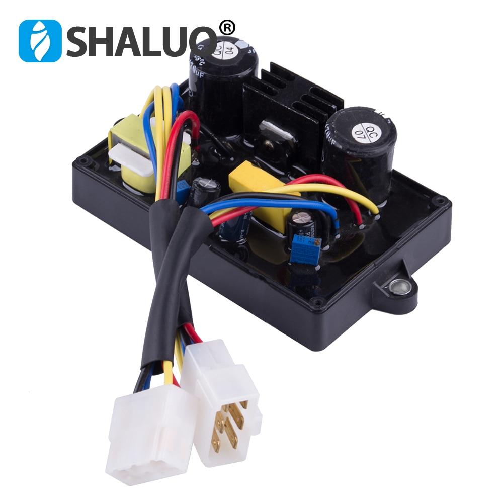 10 wires General 5kw welding generator AVR Welder Machine stabilizer Automatic voltage regulator single phase