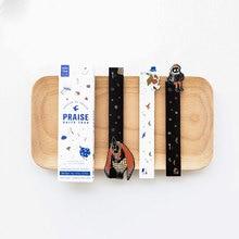 30pcs/box kawaii Bookmarks beautifully card decorative stickers Cartoon Office School Supply Stationery Gift