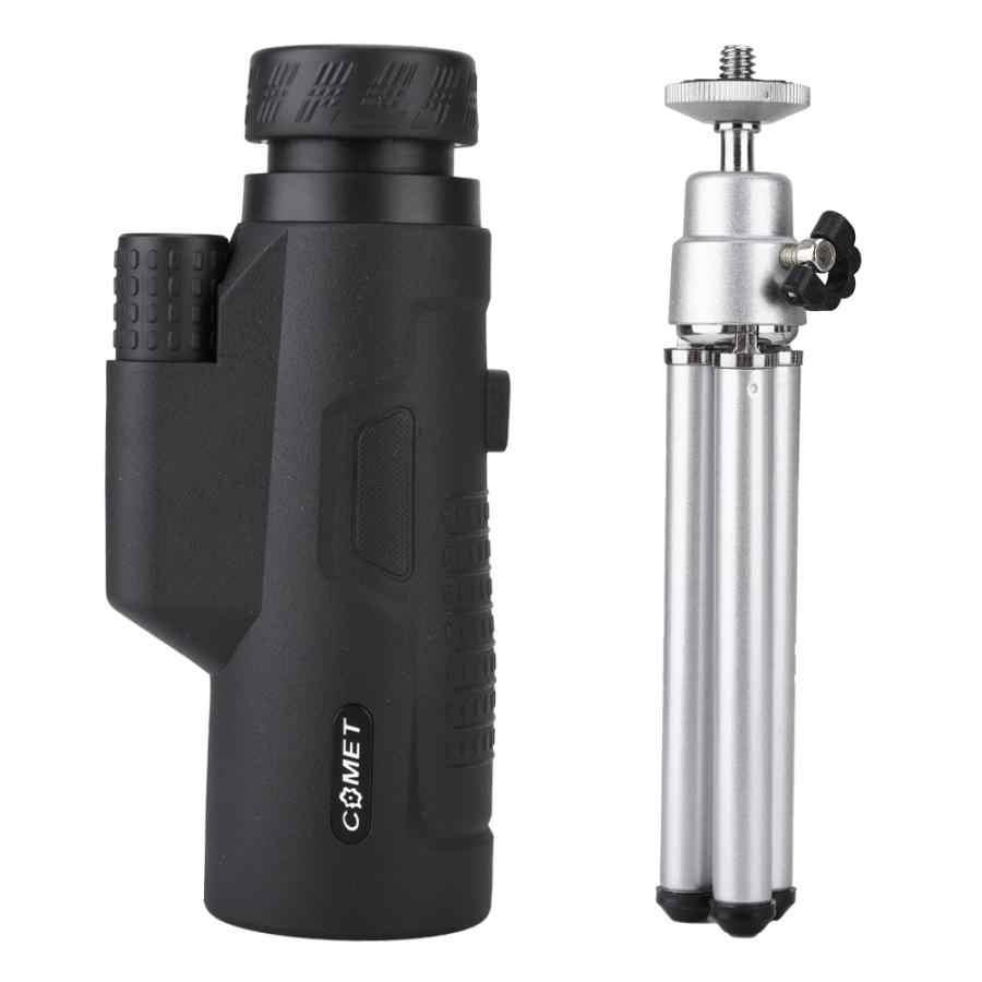 Câmera de Telefone celular Lente Zoom Monocular Telescópio HD Visual 10*42 Clipe Óptico com Tripé 2019