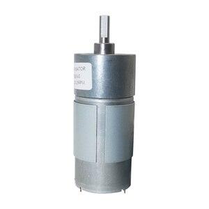 """Image 4 - 12VDC 8 1000 סל""""ד מומנט גבוה נמוך סל""""ד DC מנוע כל מתכת נמוך רעש הילוך מנוע JGB37 545"""