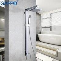 Mejor Sistema de ducha de lluvia GAPPO juego de grifos de ducha de baño grifo montado en