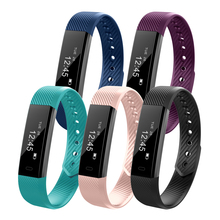 Technology Smart Wristband Fitness Bracelet ID115 HR Heart Rate Monitor Waterproof Bluetooth 4.0  with Android IOS