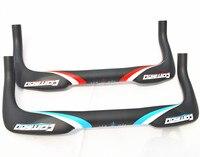 Comego Full Carbon Fiber Handlebar Bicycle Road Bike Bicycle Rest Hanlebar TT Bar 3k 31 8