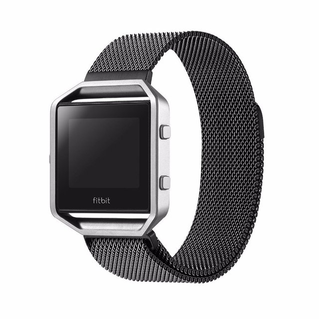 HOCO Fitbit watchbands Fine steel Large Replacement Wrist Band Clasp Bracelet For Fitbit Flex smart watch New Fashion