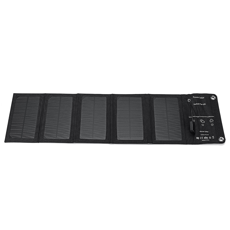 Portable Folding Solar Charger with USB Interface
