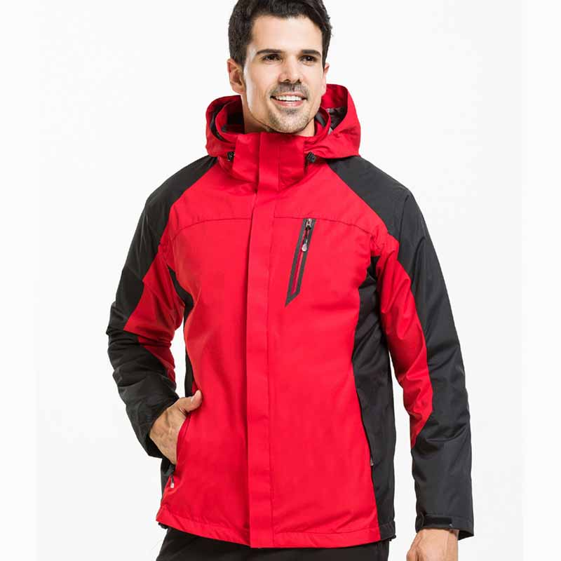 ФОТО NIUMO New Outdoor clothing Autumn and winter two-piece Ski-wear Couples with Warm clothes hiking jackets