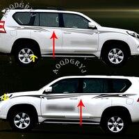 Car styling For Toyota Land Cruiser Prado fj150 2010 2019 Car Garland Full Body Sport Vehicle SUV Pull Stickers Decoration