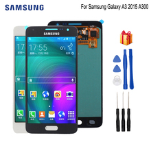 Original For SAMSUNG Galaxy A3 2015 A300 LCD Display Touch Screen Digitizer Replacement For Samsung A300H A300F A300FU ScreenLCD цена
