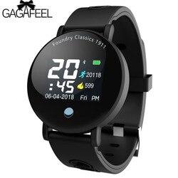 GAGAFEEL Y6 Plus Smartwatch Blood Pressure Heart Rate Tracker Mode Smart Watch Men Women Round Big Display Fintness Sports watch