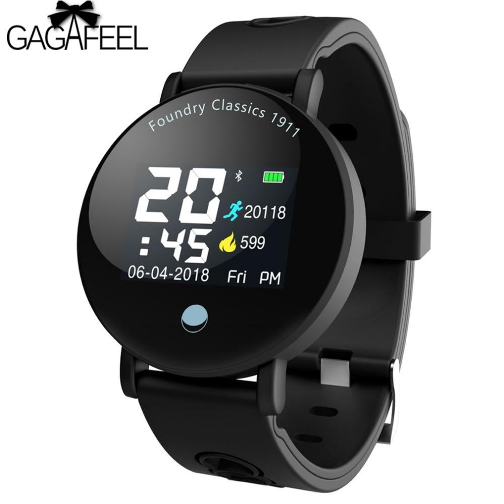 Gagafeel Y6 Plus Smartwatch Blutdruck Herz Rate Tracker Modus Smart Uhr Männer Frauen Runde Große Display Fintness Sport Uhr Zu Den Ersten äHnlichen Produkten ZäHlen Uhren