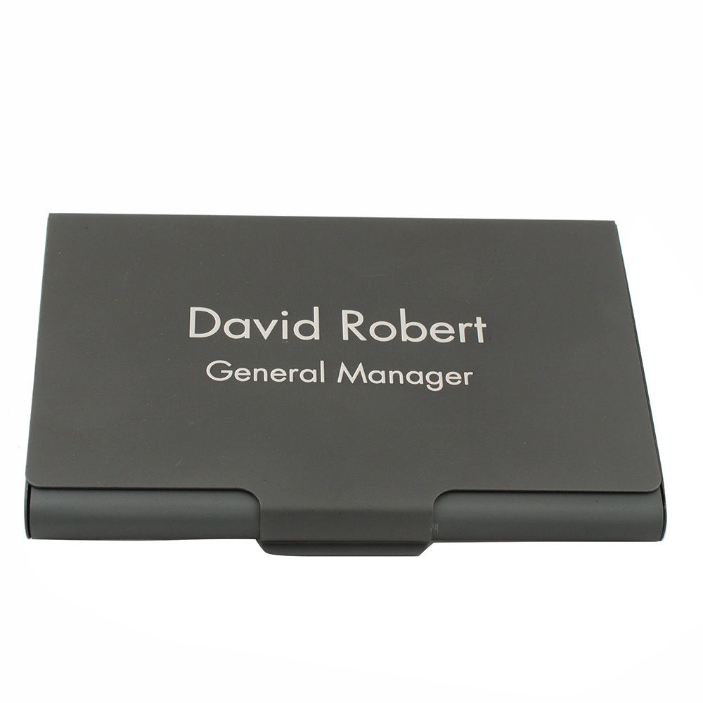 compare prices on custom engraved business card holder online