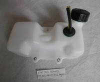 FUEL TANK ASSEMBLY FOR MITSUBISHI TU26 ENGINEFREE SHIPPING CHEAP STRIMMER FUEL TANK CAP SPRAYER CUTTER REPLACEMENT