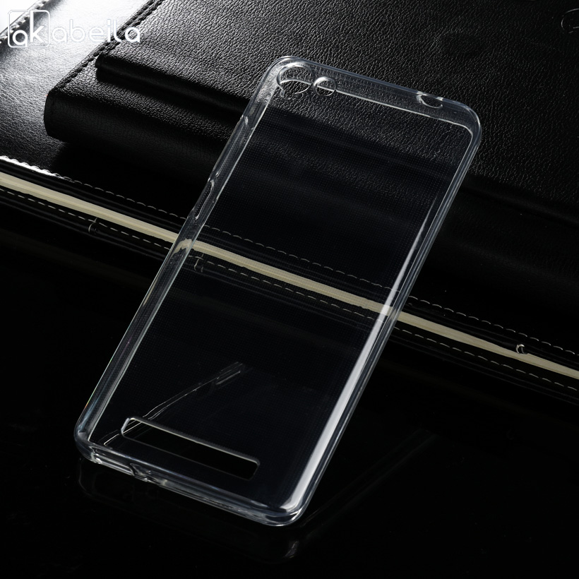 Galleria fotografica AKABEILA Soft Cases For Micromax Q4251 Case Transparent Ultra Thin Anti-knock Cover For Micromax Canvas Juice A1 Q4251 Covers