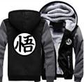 Аниме Dragon Ball Гоку Косплей Сгущает Толстовка С Капюшоном На Молнии Пальто Куртки Кофты