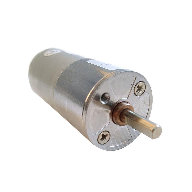 цена на GA25RP dc gear motor 12V 370 dc motor 6V 24V high torque central shaft output 5rmp30rmp100rmp200rmp500rmp600rmp800rmp1000rmp