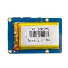 3.7V Raspberry Pi Li-polymer Power Bank 3800mAH Suit For Raspberry Pi Model B Free Shipping
