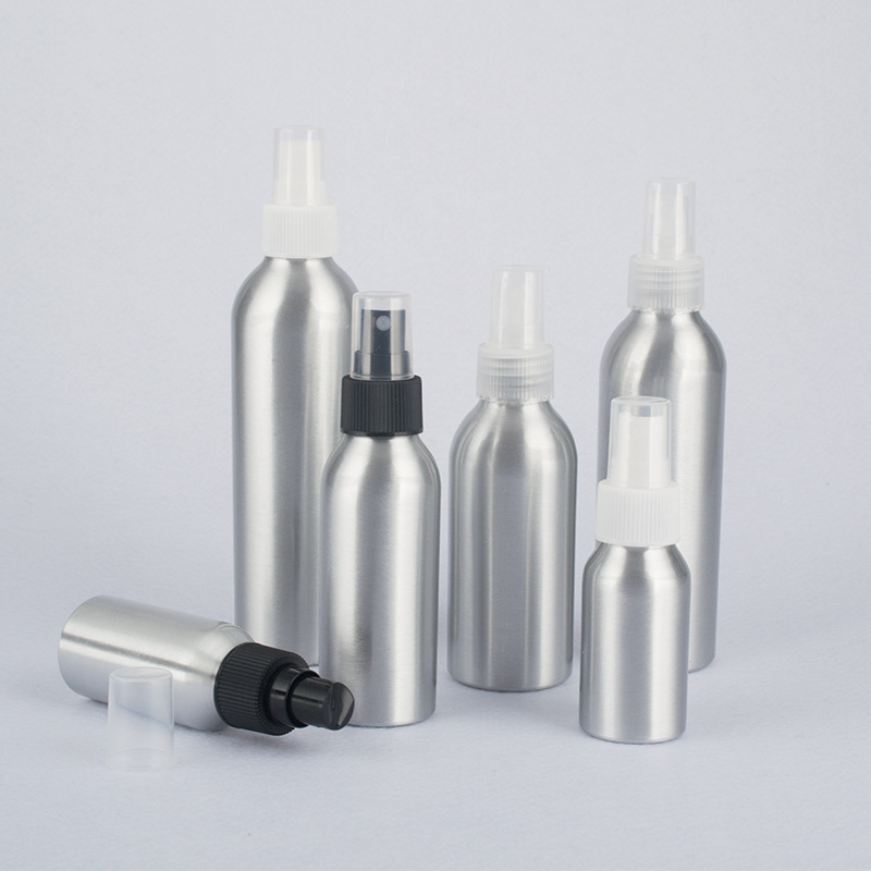 High Quality Refillable Bottles Salon Hairdresser Sprayer Aluminum Water Spray Bottle Make Up Tools Accessories 40ml 50ml 100ml