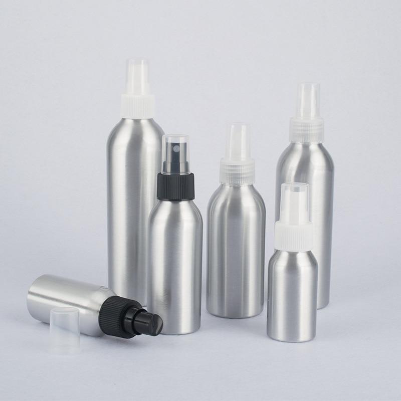 High Quality Refillable Bottles Salon Hairdresser Sprayer Aluminum Water Spray Bottle Make Up Tools Accessories 40ml 50ml 100ml