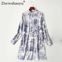 Ziwwshaoyu Casual-Top Bohemian Long-Sleeve Fashion Women's Cotton Lapel High-Quality