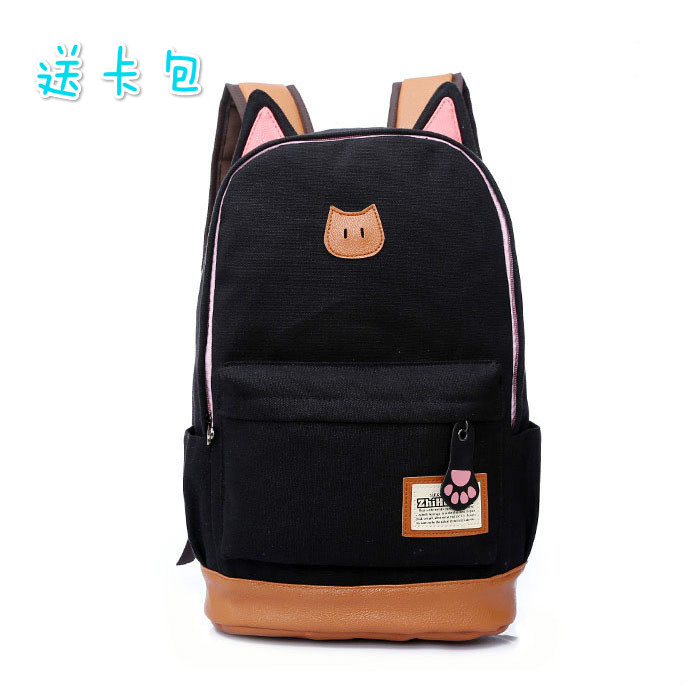 Women Backpack Kawaii Canvas Colorful Lady Rucksack Female Casual Sport Travelbag Bags mochila feminina girl Schoolbag