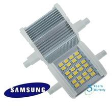 30pcs/lot DHL free shipping 78mm 7w LED R7S light  with 24pcs samsung SMD5730 flood AC85-265V 3 years warranty