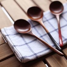 Деревянная ложка бамбуковая кухонная посуда инструмент суп чайная ложка Питание ложка