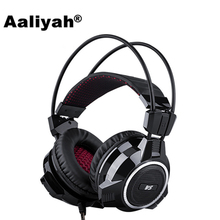 Aaliyah XIBERIA V5 Profession FPS Bass Gaming Headset 7.1 Channel Shine Headphones With Microphone Headset for Computer PC Gamer