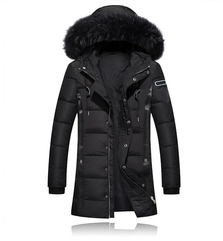 2019 Men's Winter   Down   Jacket 80% White Duck   Down   Jacket Men Windbreaker   Down     Coat   Male M-3XL Parka Pluma Hombre