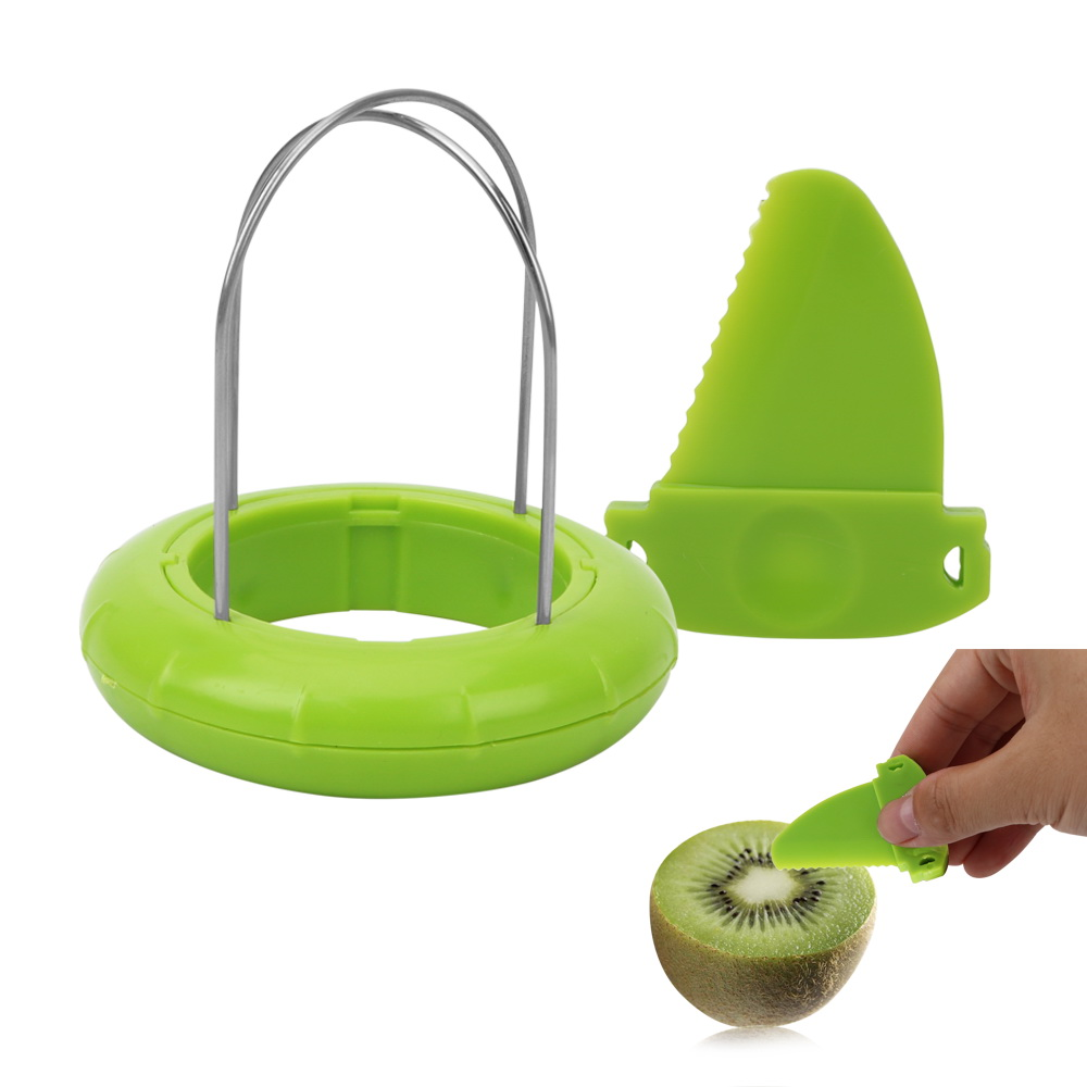 HILIFE Fruit Kiwi Cutter Device Cut Kitchen Peeler Random Color Digging Core Twister Slicer Kitchen Tools 1 Piece in Shredders Slicers from Home Garden