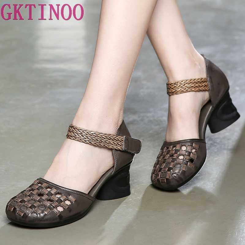 962b57d7418 Detail Feedback Questions about GKTINOO Embossed Flower Sandals ...