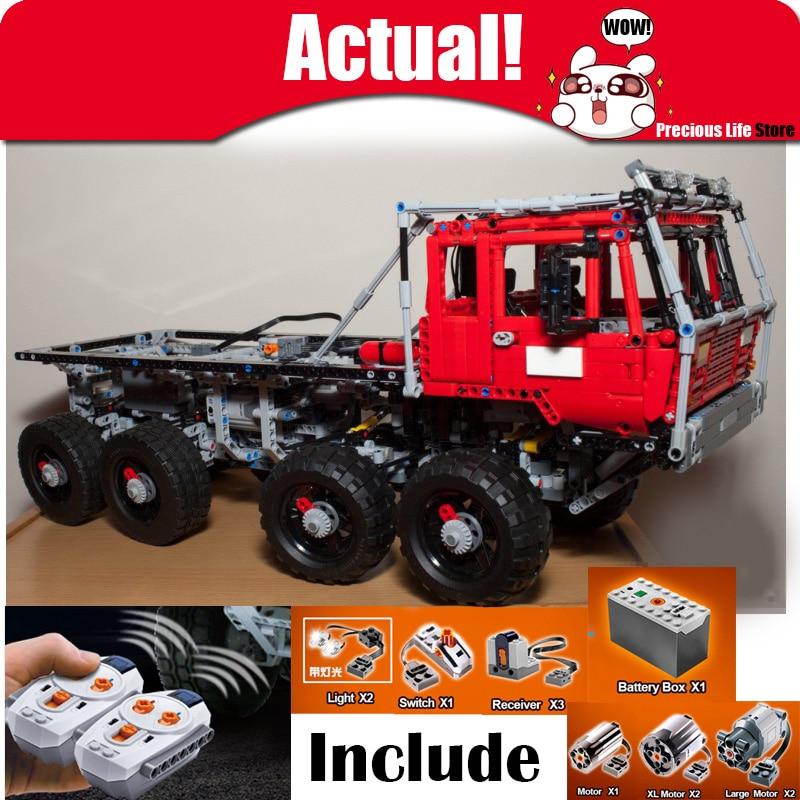 En Stock Lepin 23012 2839 piezas Genuine Technic el Arakawa Moc camión Tatra 813 edificio educativo bloques ladrillos legoingly
