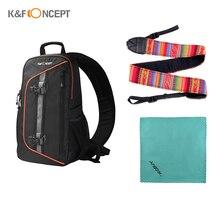 K & F CONCEPT borsa a tracolla borsa per fotocamera DSLR impermeabile borsa da viaggio per Canon Nikon Sony fotografia allaperto