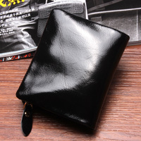 CHISPAULO 2017 Vintage Genuine Leather Man Wallet Short Design Coin Purse Women Luxury Brand Vintage For