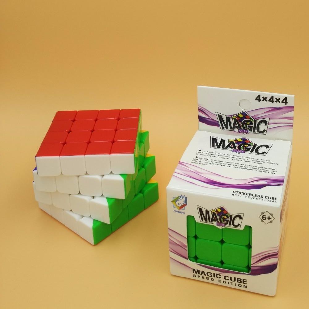 font b 2017 b font NEW High Quality Magic Cube Professional 4x4x4 Cubo Magico Puzzle