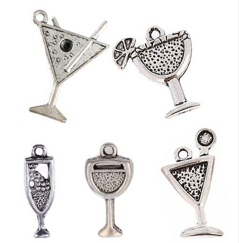10PC Tibetan Silver Love cœur papa Charm Pendentif pour À faire soi-même Bracelet Collier Artisanat