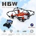 Mini Fpv Quadcopter Com Câmera HD Wifi Real-tempo de Transmissão Dron H6w Jjrc Rc Drones Voando Brinquedos De Controle Remoto Rc Helicóptero