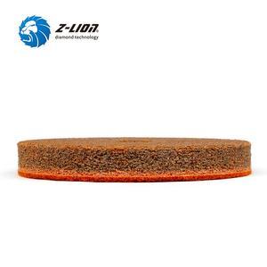 Image 3 - Z lion ensemble 4 pièces, éponges marbre 100mm, éponges pour le polissage humide, tampons de polissage avec pierre, granit, 4 pièces/ensemble