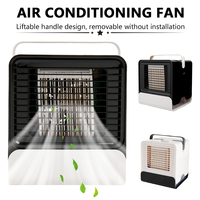 USB Mini Portable Air Conditioner Humidifier Purifier Desktop Air Cooler Fan for Office Home Usb Cooling Fan Usb Gadgets