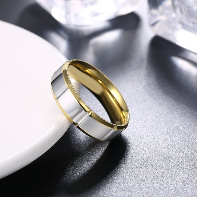 MEGREZEN MenS Wedding Rings Bijoux Argent Homme Engagement Ring Man