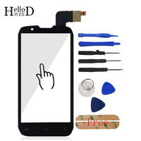 4 3 For DNS S4502 4502 S4502m Smartphone Front Touch Glass Touch Screen Digitizer Panel Lens
