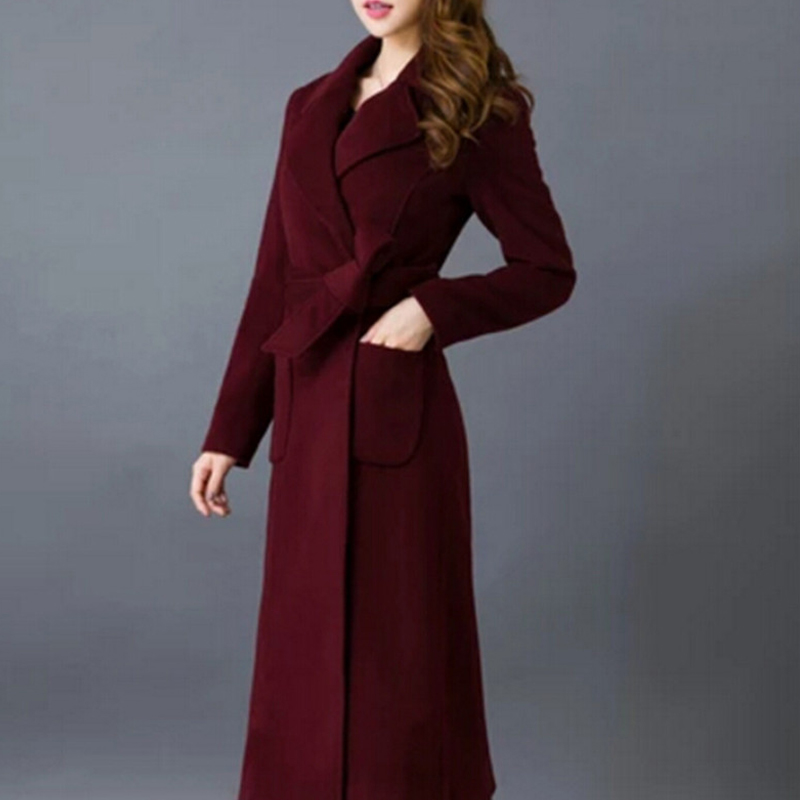 Ladies Long Dress Coats Promotion-Shop for Promotional Ladies Long ...