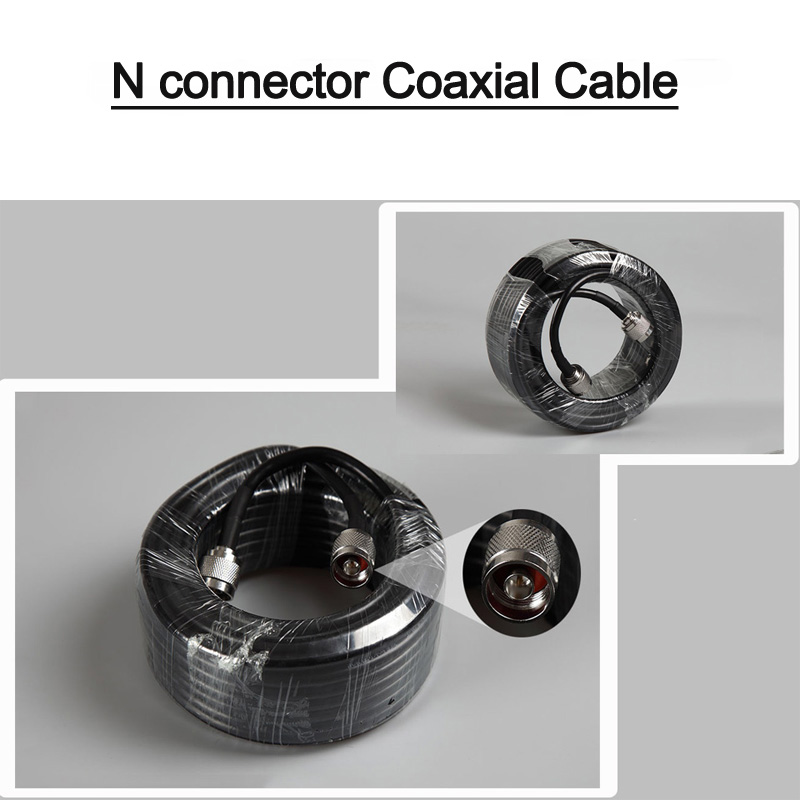 50-5 Cable for 2g 3G 4G lte <font><b>800</b></font> 900 1800 2100 2600 2300 <font><b>Mhz</b></font> Connect Repeater Yagi Log Omni Ceiling <font><b>Antenna</b></font> Power Splitter cable image