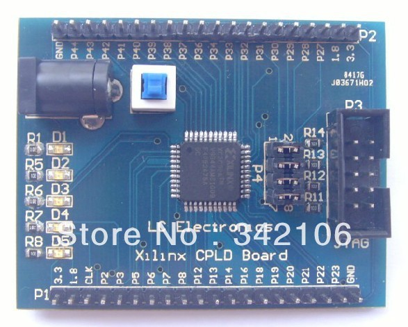 Free Shipping!!!   Xilinx CoolRunner-II XC2C32A CPLD development board learning board breadboardFree Shipping!!!   Xilinx CoolRunner-II XC2C32A CPLD development board learning board breadboard
