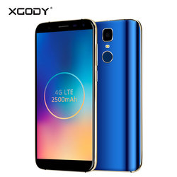 XGODY 5.5 inch Android 7.0 4G LTE Smartphone Unlock Touch Mobile Phone Cellphone D24 Pro MTK6580 Quad Core 2GB 16GB 18:9 13.0MP