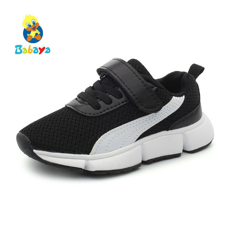 Kids Shoes For Girl Boys Sneakers Breathable 2018 New Spring Summer Children Sports Shoes Girls Fashion Kids Casual Shoes new hot sale children shoes pu leather comfortable breathable running shoes kids led luminous sneakers girls white black pink
