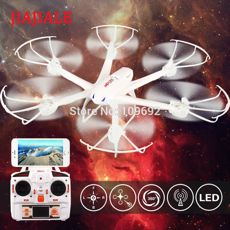 MJX X600 RC Quadcopter 6-axis Helicopter Headless Drone 2.4G Hexacopter Can Add C4008 C4010 WIFI FPV 720P HD Camera VS H98 509W