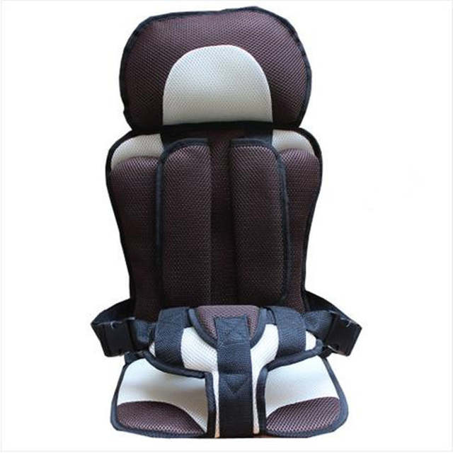 Placeholder New Portable Car Seat Travel Toddler Baby Auto Sponge Harness 7 Months Protection Kids