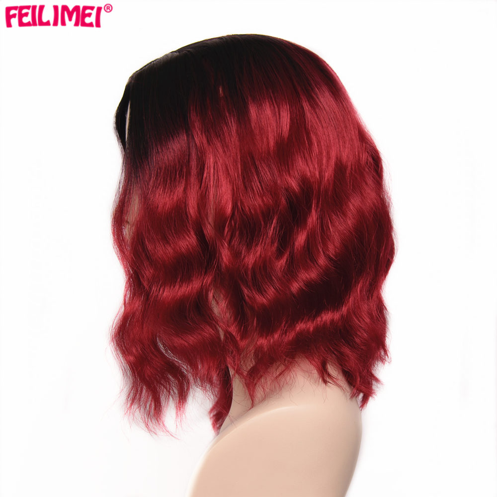 ombre wine red hair