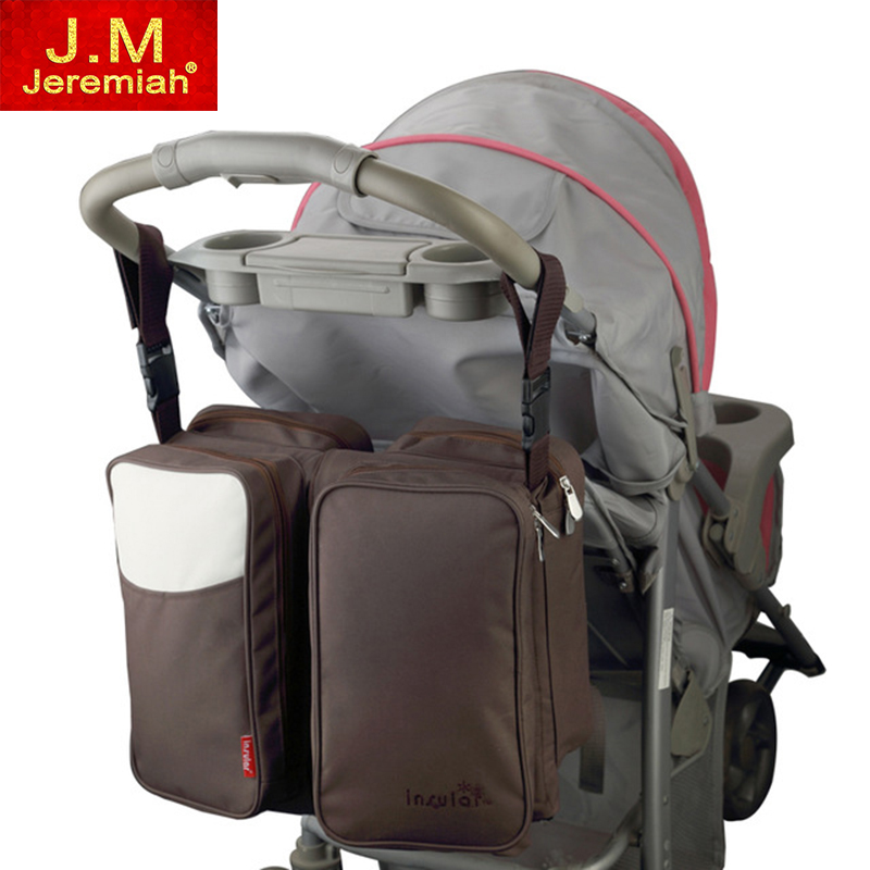 JEREMIAH 2 in 1 Messenger Multifunction Diaper Bag Movement Baby Bed Travelling Changing Bags Fold Baby Bed